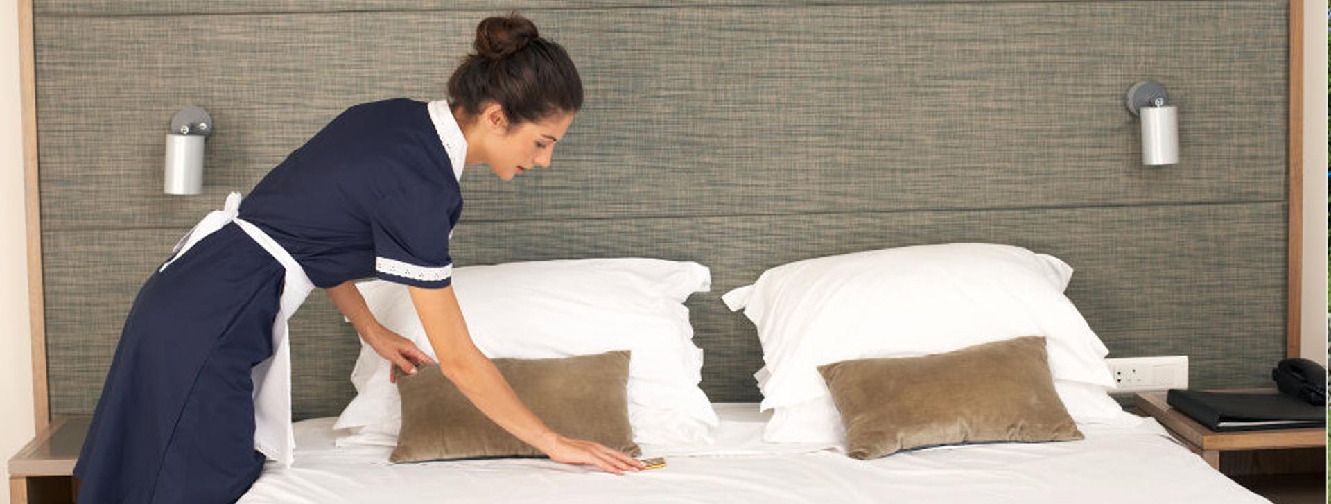 limpieza habitaciones hotel